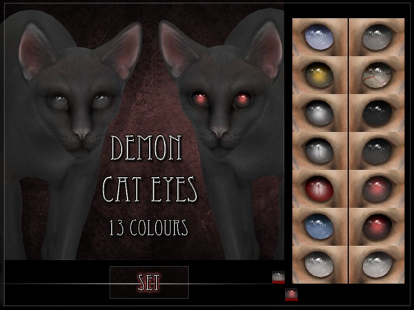 Demon Cat Eyes - Set by RemusSirion