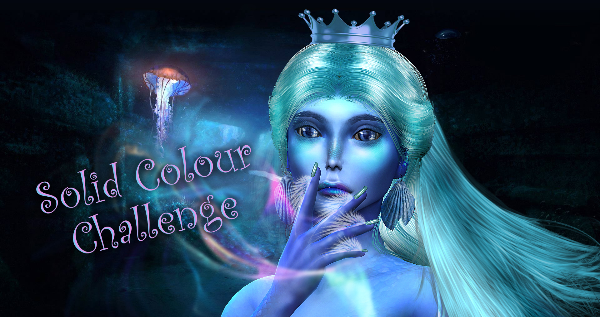 The Sims 4: Solid Colour Challenge (сим одного цвета)