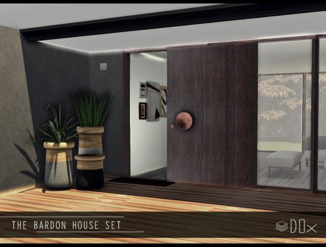 Bardon House Set by DOX