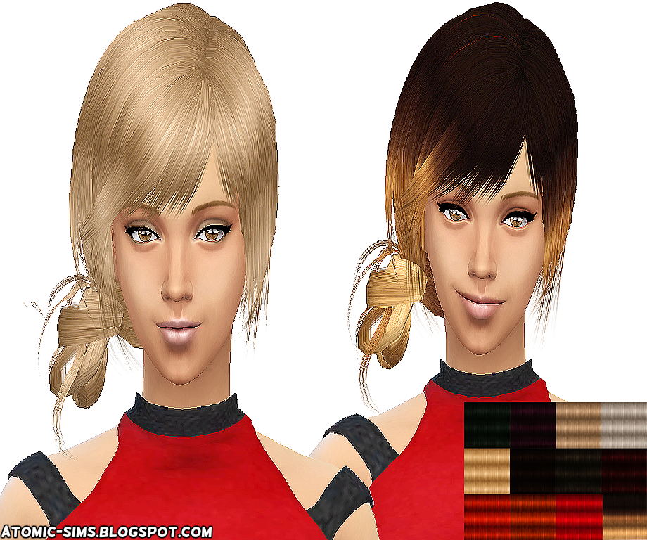 XM sims 3 Flora Hair 21 conversion