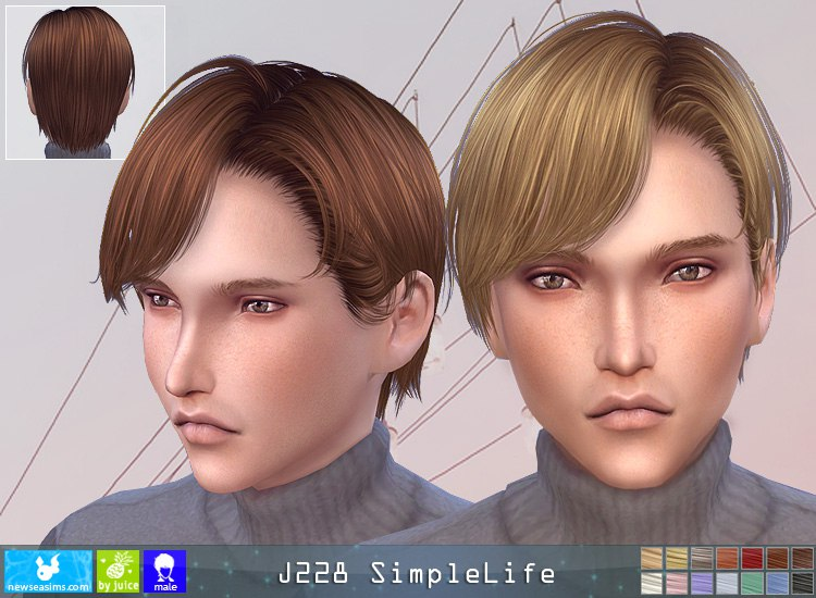J228m hairstyle by NewSea