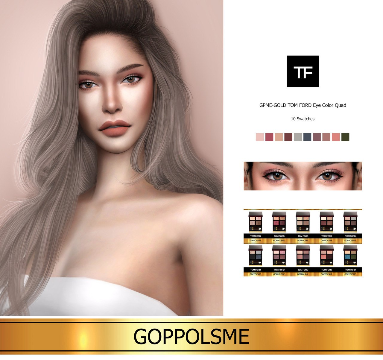 TOM FORD Eye Color Quad by GoppolsMe