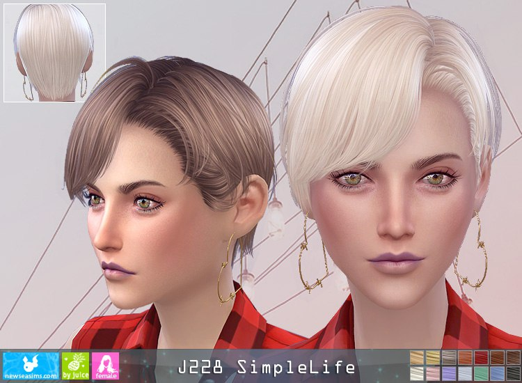 J228f hairstyle by NewSea