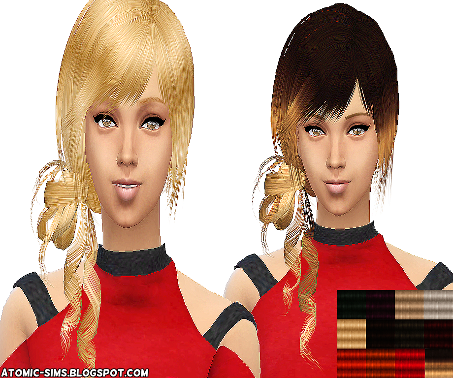 XM sims 3 Flora Hair 20 conversion