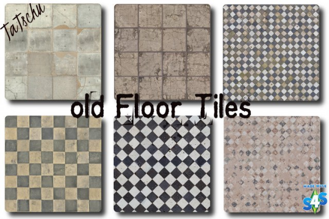 Old Floor Tiles by TaTschu