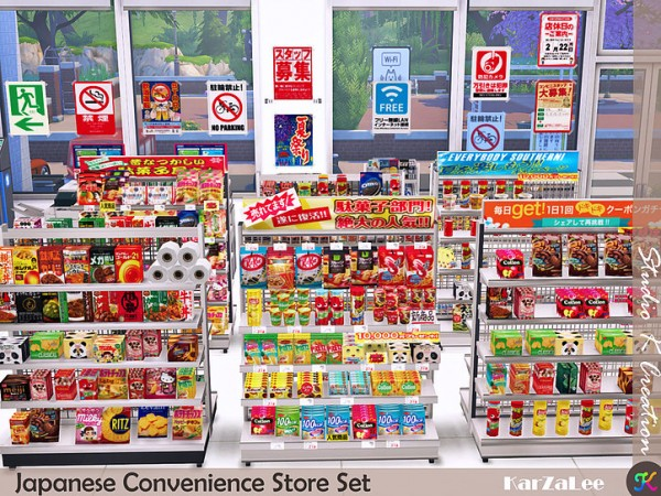 Japanese Convenience Store Set by Studio K Creation