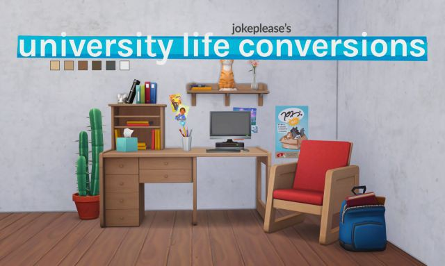 University life conversions [3t4] by jokeplease