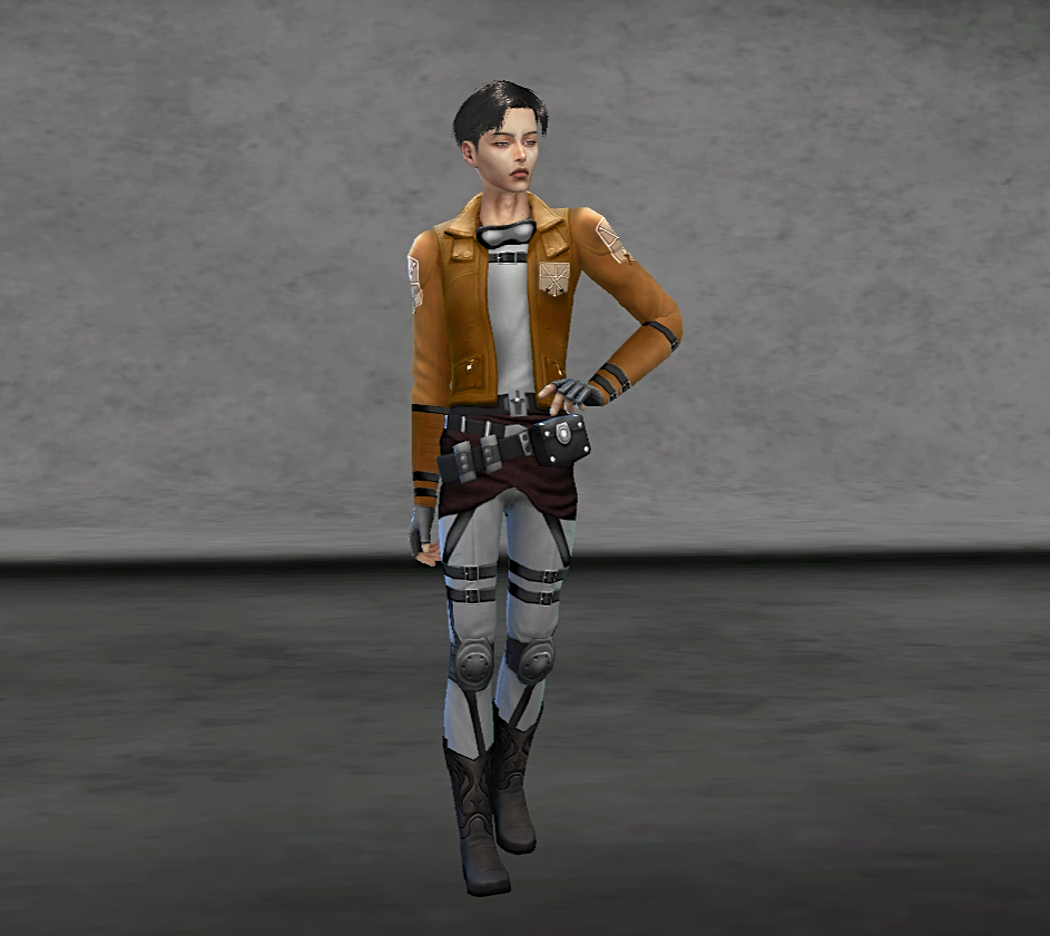 Sim Levi Ackerman by avenger girl