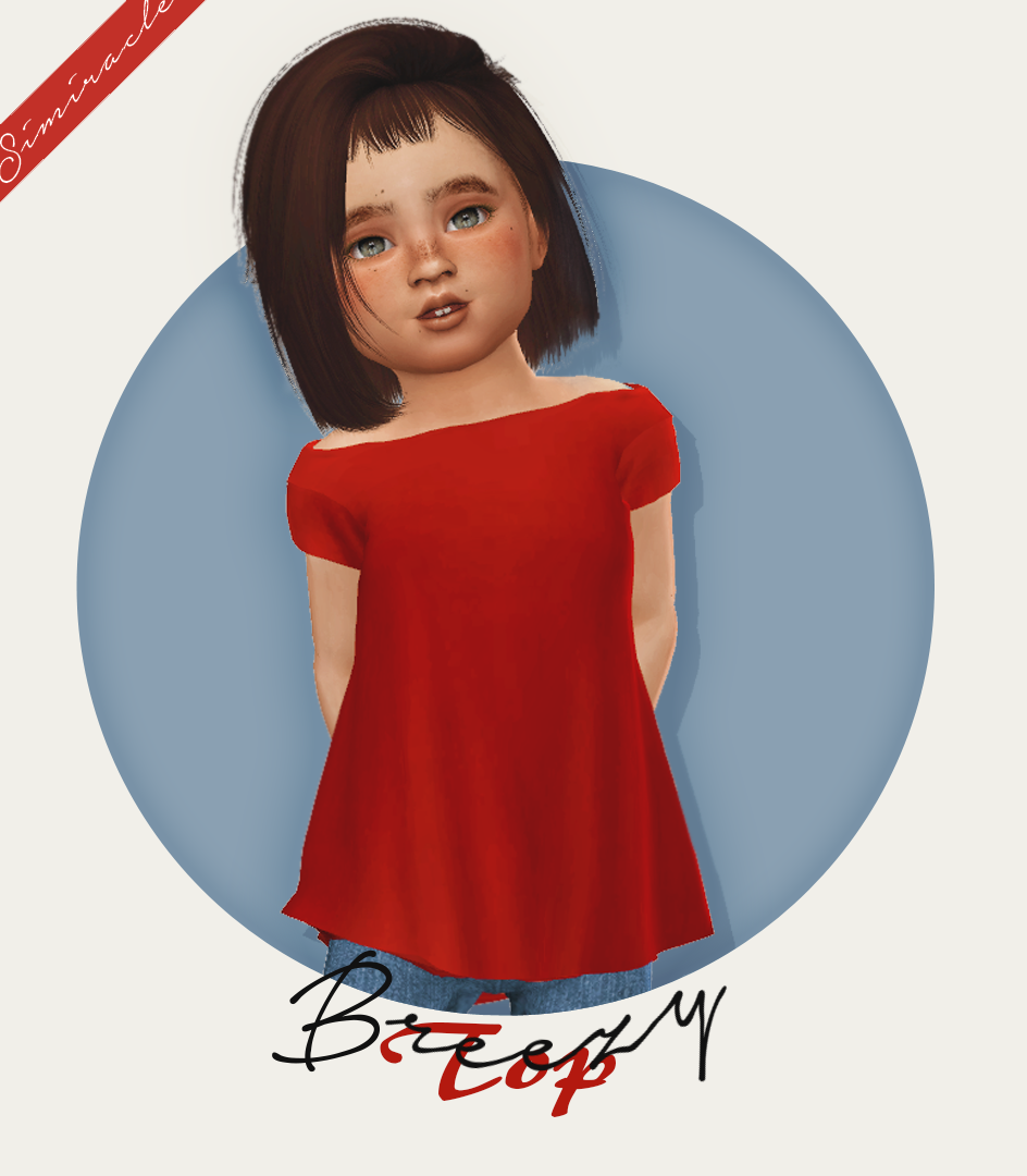 Breezy Top Recolored for Toddlers by Simiracle