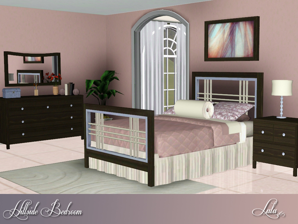Hillside Bedroom by Lulu265