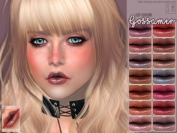 [ Gossamer ] - Lip Colour by Screaming Mustard