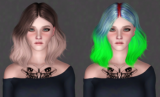 LeahLillith - Naira by IfcaSims