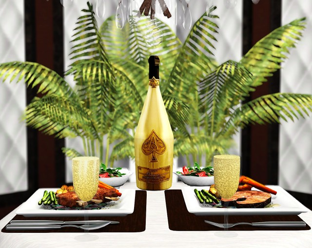 """Valentines Day Gift: """"Ace of Spades"""" Champagne by Livelovesimallways"""