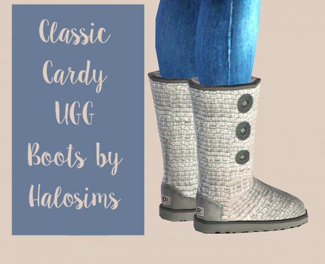 Classic Cardy UGG Boots By Halosims