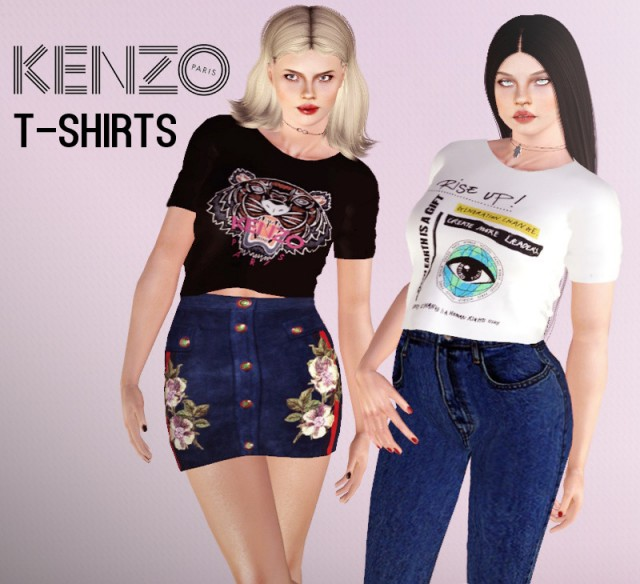 Kenzo T-Shirts Collection by Descargassims