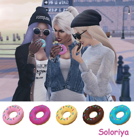 Donuts Accessories by soloriya