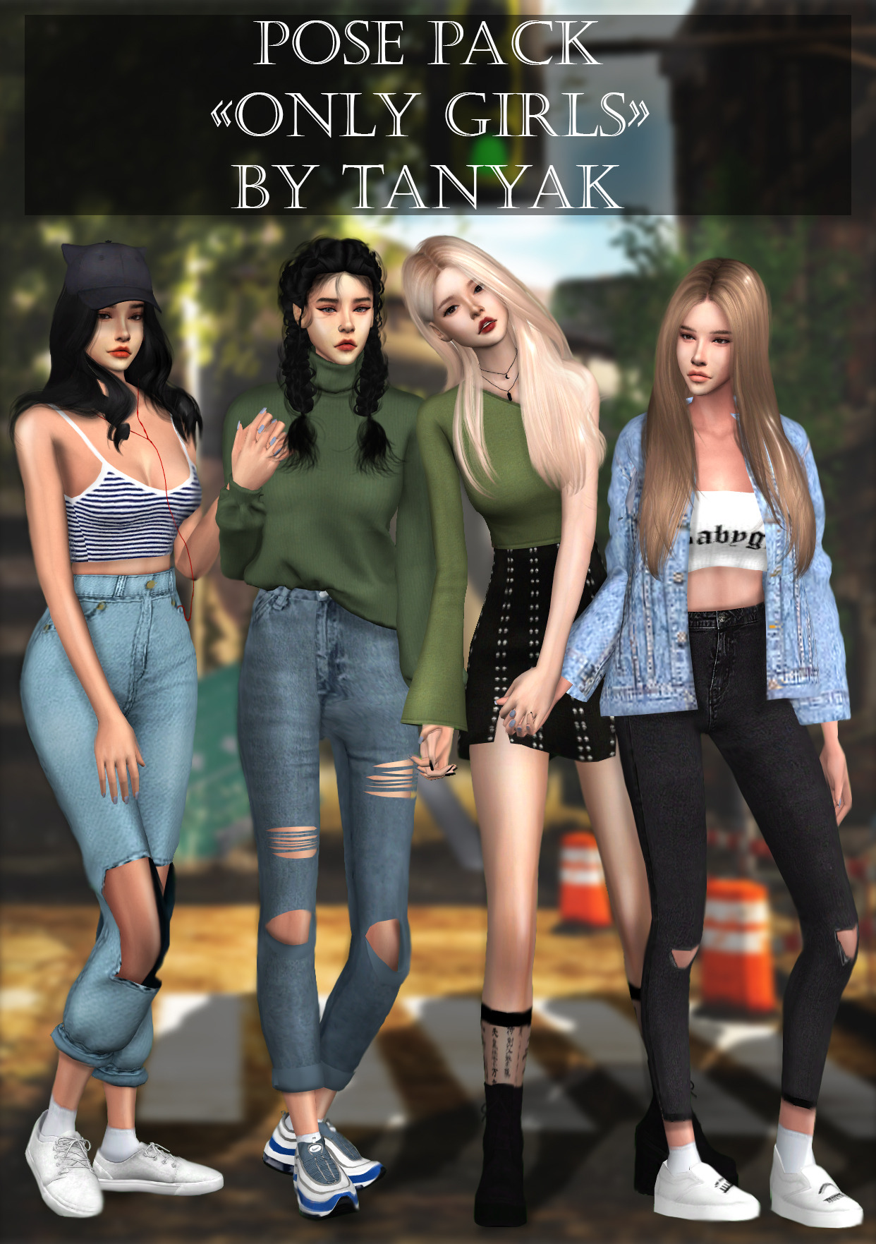 "PosePack ""Only girls"" by TanyaK"