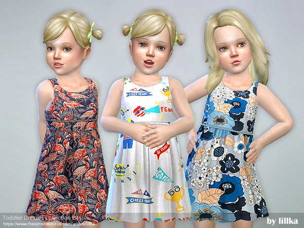 Toddler Dresses Collection P45 by lillka