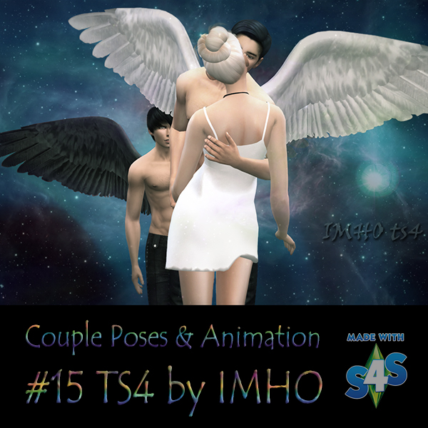 Couple Poses & Animation #15 TS4 by IMHO