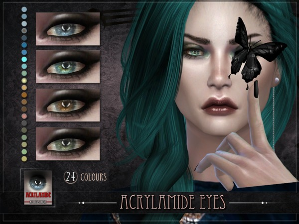 Acrylamide Eyes by RemusSirion