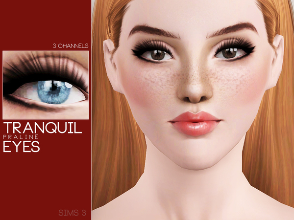 Tranquil Eyes by Pralinesims