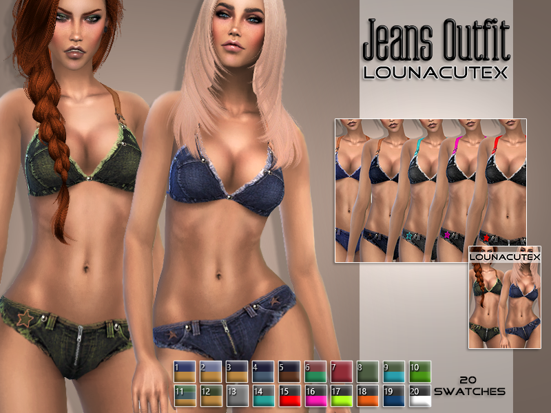 Jeans Outfit by l0unacutex