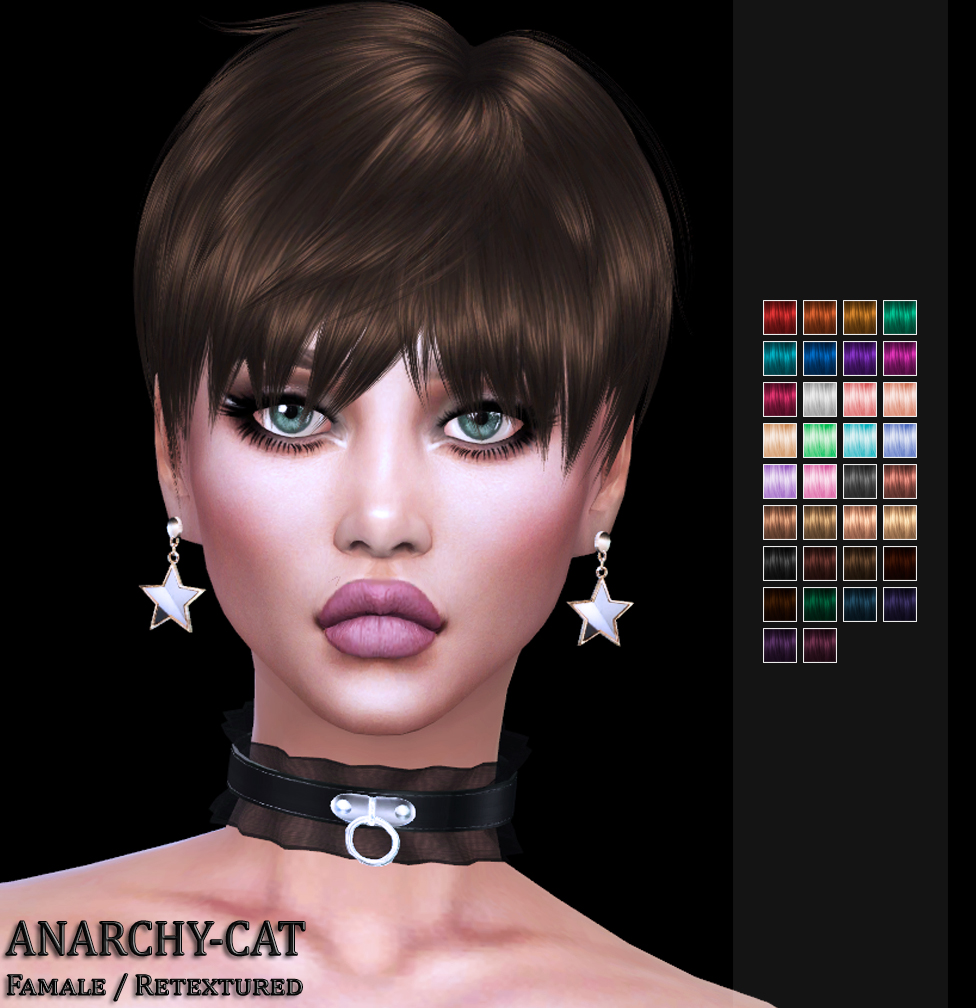 LeahLillith Mia Hair by Anarchy-Cat