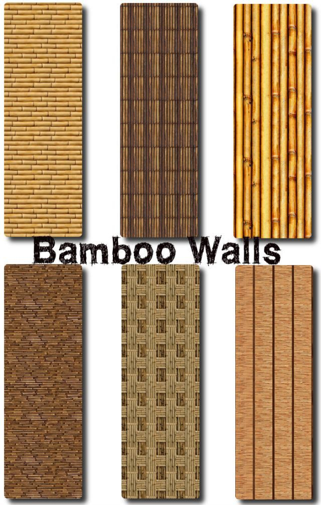 Bamboo walls by TaTschu