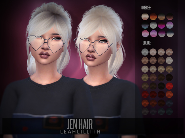LeahLillith Jen Hair by Leah Lillith