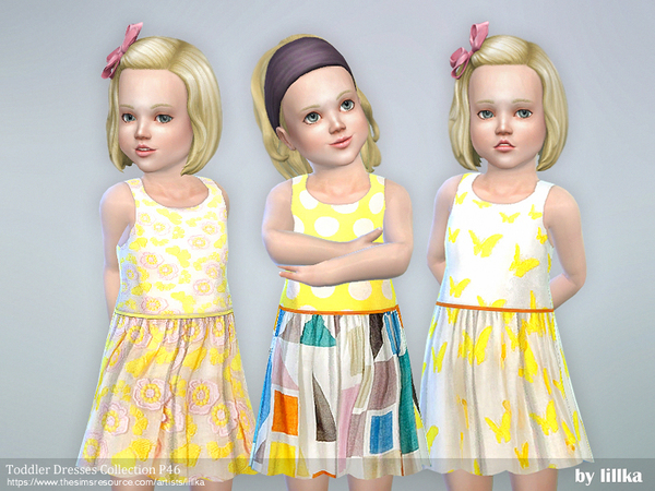 Toddler Dresses Collection P46 by lillka