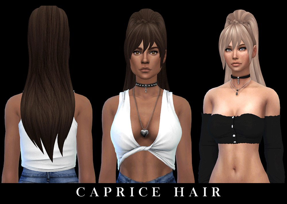 Caprice hair by Leo-sims