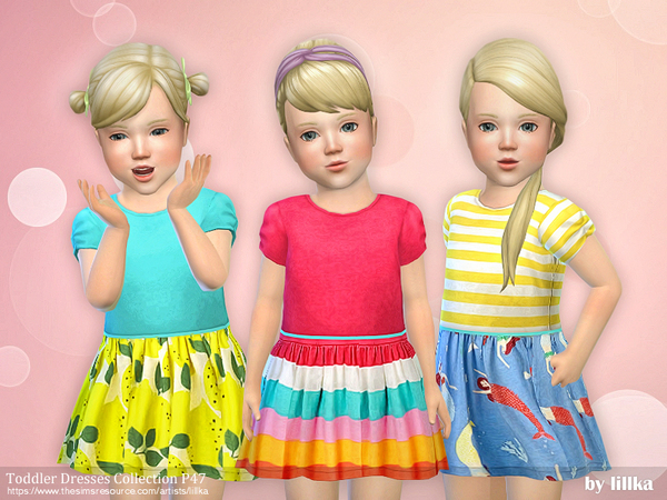 Toddler Dresses Collection P47 by lillka