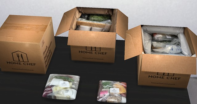 Food Subscription Box Set by Yourdorkbrains