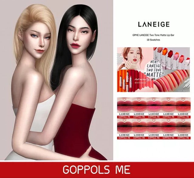 GPME LANEIGE Two Tone Matte Lip Bar by GoppolsMe