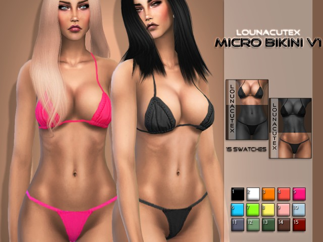 Micro Bikini Set V1 by l0unacutex