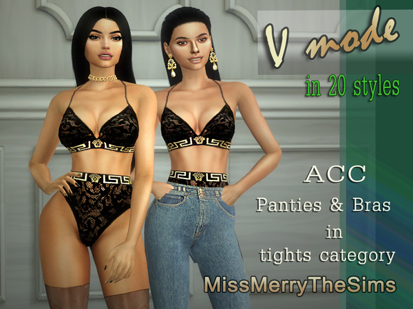 ACC panties & bras by Maria MissMerry