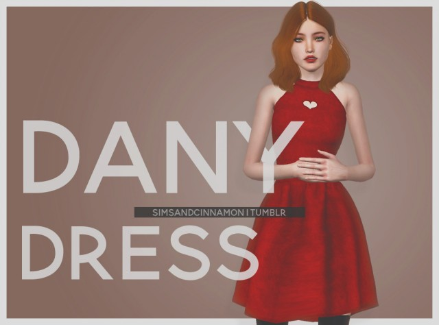 Dany Dress by Simsandcinnamon