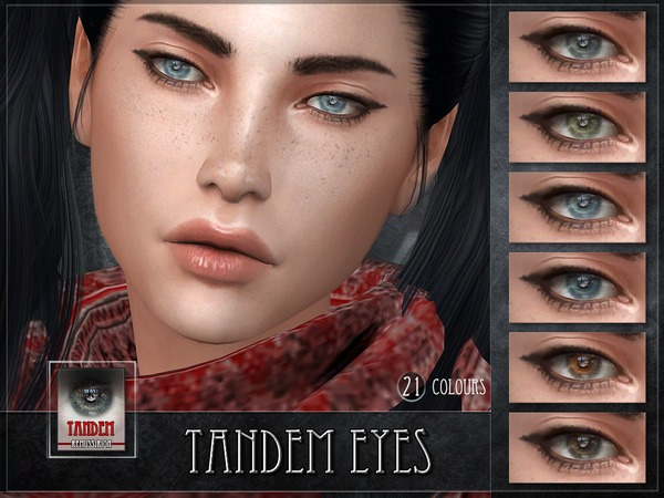 Tandem Eyes by RemusSirion