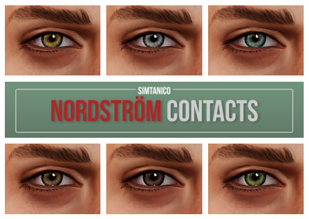 Contacts Nordstrom by simtanico