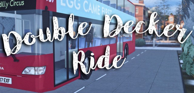 Carlos + 12 поз Double Decker Ride-Bus conversion + Pose pack by NeutralSupply