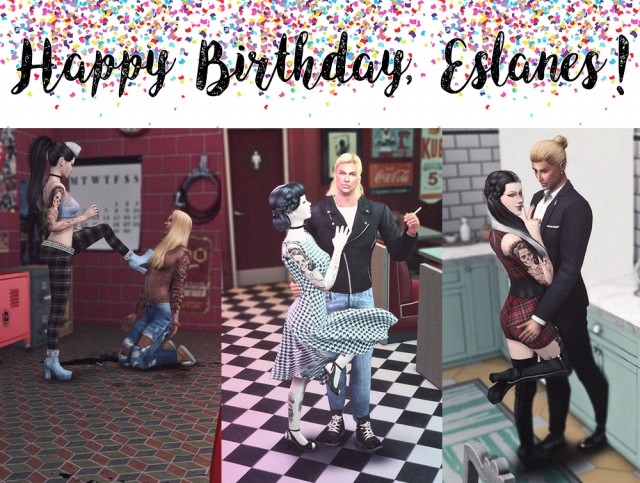 """Happy Birthday, Eslanes!"" by NeutralSupply"