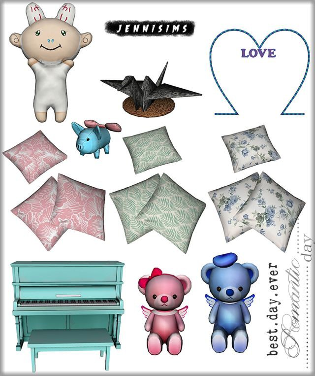 Set Vol 98 Decoratives (8Items) by JenniSims