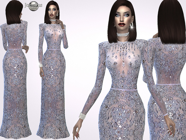 Madine glitter dress by jomsims