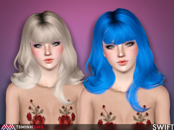 Swift ( Hair 57 ) by TsminhSims