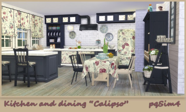 Kitchen and Dining Calipso by pqSim4