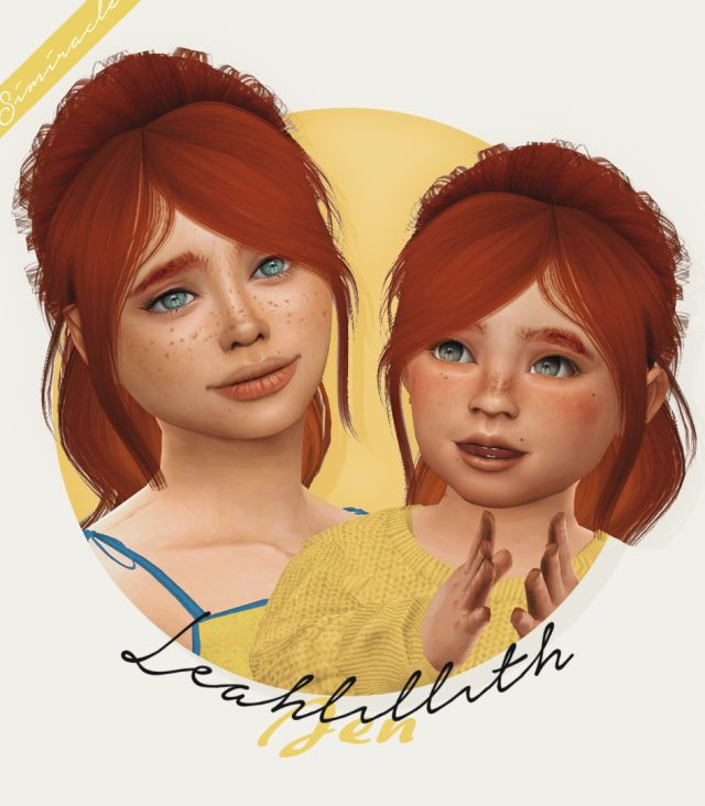 Leahlillith Jen - Kids & Toddlers by Simiracle