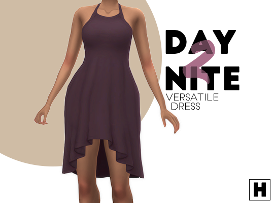 Day 2 nite dress by HabSims