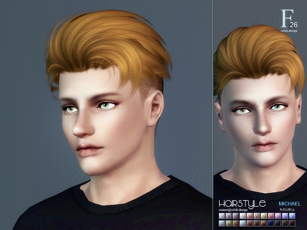 S-CLUB HAIR TS3--26