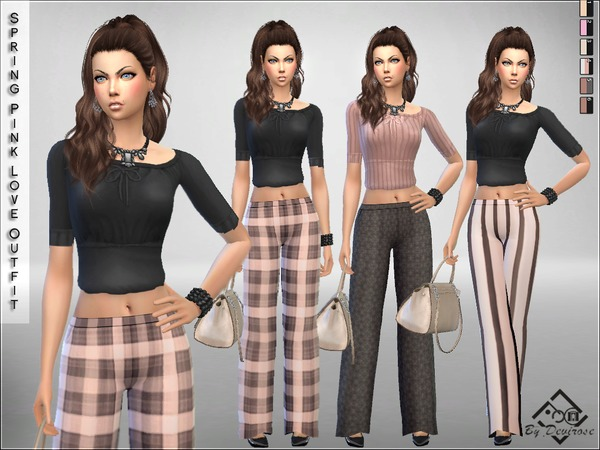 Spring Pink Love Outfit by Devirose