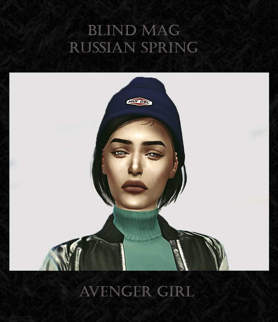 Сим Blind Mag by Avenger_girl